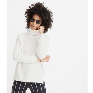 MADEWELL '19 Varick turtleneck sweater top white